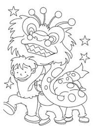 Chinese New Year Pictures To Color