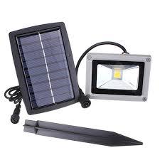 LED 2 Head Solar Security Wall Porch Light Sensor Lamp Outdoor