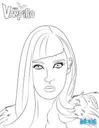 Zaira De Chica Vampiro Coloring Pages Hellokidscom