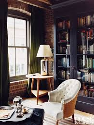 Rustic Loft Library Nook Carter Smith Cozy Country Meets Urban