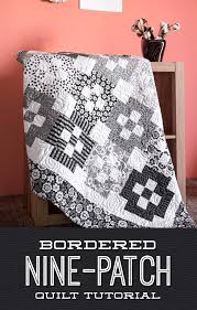 Bordered Nine Patch Quilt