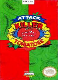 Attack of the Killer Tomatoes – Is this some kind of cartoon or ic book
