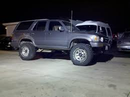 Toyota 4Runner Questions I have 33x12 TIRES and they Rub