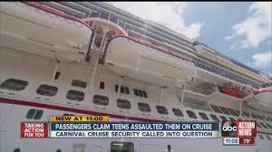 teens terrorize a floor on a carnival cruise ship youtube