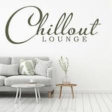 details zu wandtattoo wandsticker wandaufkleber wohnzimmer chillout lounge wt071