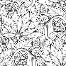 Coloring Book Pictures Of Flowers