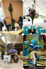 Peacock Wedding Decorations Ideas workshop