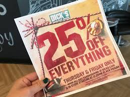 Best Dick's Sporting Goods Black Friday Deals For 2019 ... How To Use A Dicks Sporting Goods Promo Code Print Dicks Coupons Coupon Codes Blog 31 Hacks Thatll Shock You The Krazy Coupons Express And Printable In Store 20 Off Weekly Ads 20 Much Save With Shopping Deals Promotions Goleta Valley South Little League Official Retail Sponsor Of The World Series