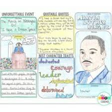 Students Create A Trifold Brochure About Civil Rights Movement Hero Using These Meaningful Lesson Plans Texts And Sessions For Martin Luther King