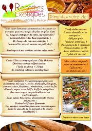 cours de cuisine pour professionnel la liste des plats proposés en cours de cuisine est faite par