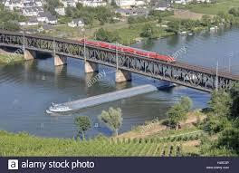 100 Water Bridge Germany RhinelandPalatinate Bullay Moselle River