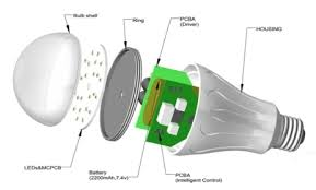 led bulb parts view specifications details of led bulb fixture