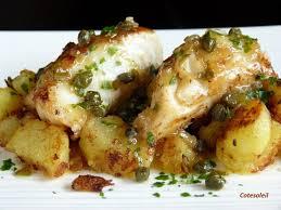 cuisiner le dos de cabillaud à la poele dos de cabillaud au beurre de capres ecrase de pommes de