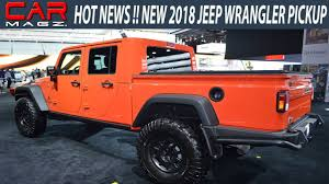2019 Jeep Wrangler Pickup Truck Spied Specs - YouTube