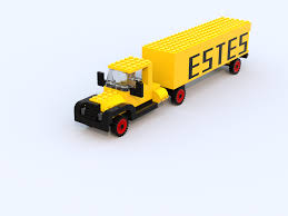 LEGO IDEAS - Product Ideas - Vintage Estes Truck Great Dane Trailers By Wolverine Web Site Estes Pup Intertional K11 First Gear 134 Buy War Bonds Truck Tes Freight Moving Company Byside Comparison Roofing For Best Architectural Design Ltrucks Express Lines Vintage Ford F 100 Pick Truck Photographed Stock Photo Edit Now Chosen As Carrier Of The Year American Group