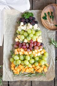 Its A Basic Cheese Board With Fruit Thats Totally Customizable And Great For Holiday Parties Or Just Something Fun The Kids On Christmas