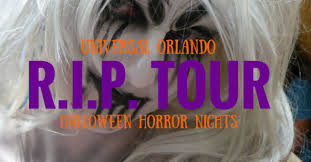 Halloween Horror Nights Frequent Fear Pass by Rip Tour Universal Orlando Halloween Horror Nights Orlando