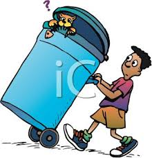 Taking Out The Trash Clipart ClipArtHut Free Clipart