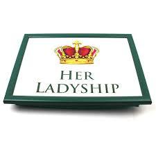 Amazon Padded Lap Desk by Lesser U0026 Pavey Her Lady Ship Lap Tray Style Lp23600 Amazon Co
