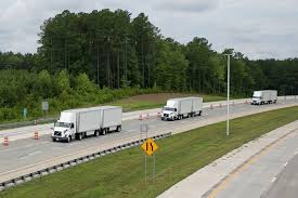 FedEx And Volvo Demonstrate Truck Platooning On US Highway - Postal ... Fedex Driver Thrown And Run Over By His Own Vehicle Halliburton Truck Driving Jobs Find How To Get A Route For Ground Chroncom Add List Of Tesla Semi Reservations Trucker Bonuses Reach 8000 But Ownoperators Lines Fedex Truck Driving Jobs Best Resource History The Trucking Industry In United States Wikipedia Approval Big Warehouse Brings Out 400plus Union Workers Train Slams Through Dashcam Video Indianapolis Image Kusaboshicom Miami Beach Florida Worldwide Company Business Shipping