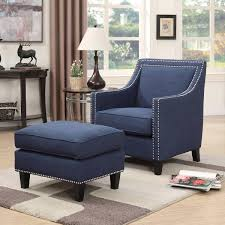 100 Accent Chairs With Arms And Ottoman Navy Blue Chair Creative Home Furniture Ideas