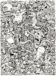 Pretty Design Doodles Coloring Pages More Doodle Drawings By Kerby Rosanes Invasion Book