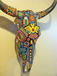 Decorated Cow Skulls Pinterest by Cow Skull Wall Decor Mosaic Artprice Reduced By Minilonghorns