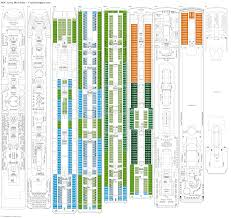 Celebrity Equinox Deck Plan 6 by Msc Lirica Deck Plans Diagrams Pictures Video