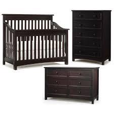 Baby Cache Heritage Double Dresser by Crib And Dresser Set Espresso Baby Crib Design Inspiration