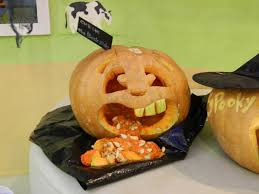Puking Pumpkin Carving Ideas by A Day With J South Korean Edition The Asian Observations Of J