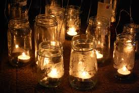 Simple Diy Rustic Hanging Mason Jar Candle Holder Lanterns Outdoor