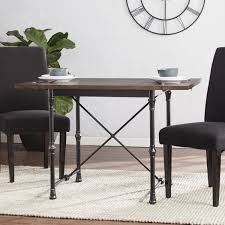 Harper Blvd Bayfield Industrial Farmhouse Drop Leaf Dining Table
