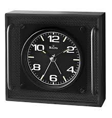 Bulova Table Clocks Wood by Decor Add Bulova Mantel Clock For Chic Room Decoration