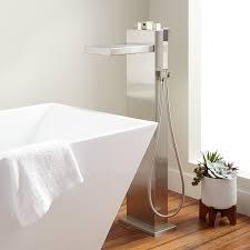 Delta Floor Mount Tub Faucet by Floor Mount Freestanding Tub Fillers Signature Hardware