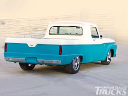 100 1964 Ford Truck F100 Rear Photo 1 Blue Oval 64 To 66 Panel