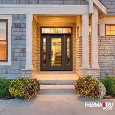 Therma Tru Patio Doors With Blinds by Therma Tru Entry Doors And Patio Doors At Lowe U0027s