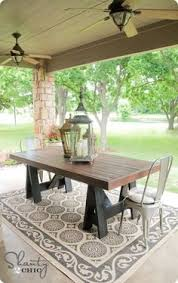 Build Your Own Outdoor Dining Table A Pottery Barn Knock Off By Faye