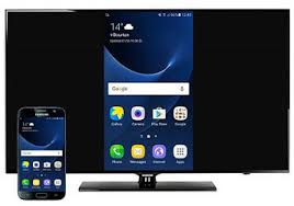 How to open the screen mirroring connection on your Samsung smartphone or tablet and on