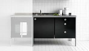 küchenschrank modul küche edelstahl ikea