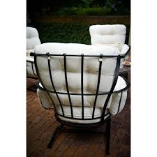 Meadowcraft Patio Furniture Glides by Meadowcraft Vinings Wrought Iron 4 Person Patio Deep Seating Set