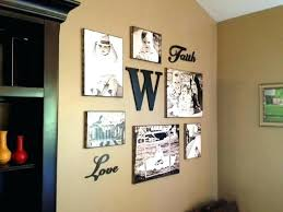 Photo Collage Ideas For Wall Canvas Collages Decor Awesome Doing