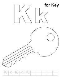 Perfect Key Coloring Page 46 For Your Free Colouring Pages With