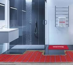 fußbodenheizung unter dusche im nassbereich warmup