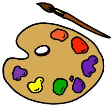 Clip Art Artist Paint Palette Clipart Kid