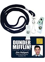 Jim Halpert Halloween by Amazon Com Jim Halpert Dunder Mifflin Inc Novelty Id Badge The