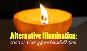 Rain Oil Lamp Instructions by Alternative Illumination Create An Oil Lamp From Household Items