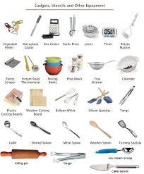 ustenciles de cuisine kitchen utensils equipment learning les ustensiles de