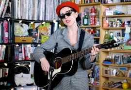 St Vincent performs acoustic MASSEDUCTION songs for NPR s Tiny