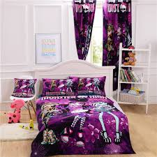 monster high bed cover monster high bedding set for kids monster