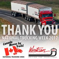 100 Wbt Trucking Thank You To Our Professional Drivers Westcan Bulk Transport